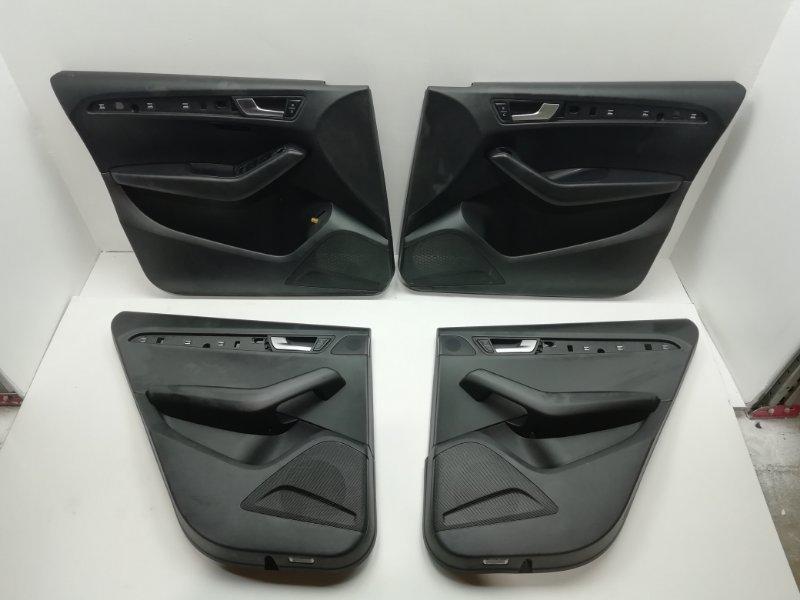 Комплект дверных карт Audi Q5 3.2 FSI 2010 (б/у)