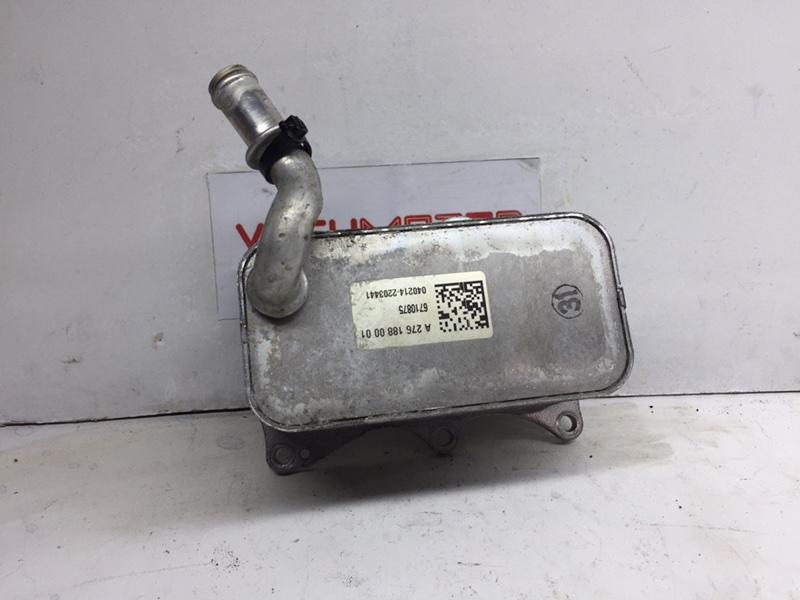 Радиатор масляный Mercedes C300 W204 3.5 2014 (б/у)