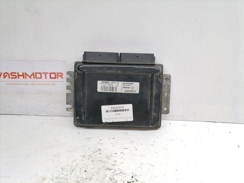 Блок управления двигателем Renault Clio 1.6 1999 (б/у)