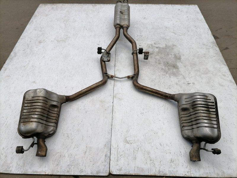 Глушитель Mercedes E350 W212 3.5 2011 (б/у)