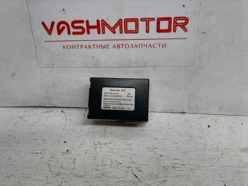 Блок камеры Mercedes E350 W212 3.5 2011 (б/у)