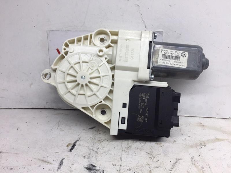 Мотор стеклоподъемника Volkswagen Passat Cc 2011 задний левый (б/у)