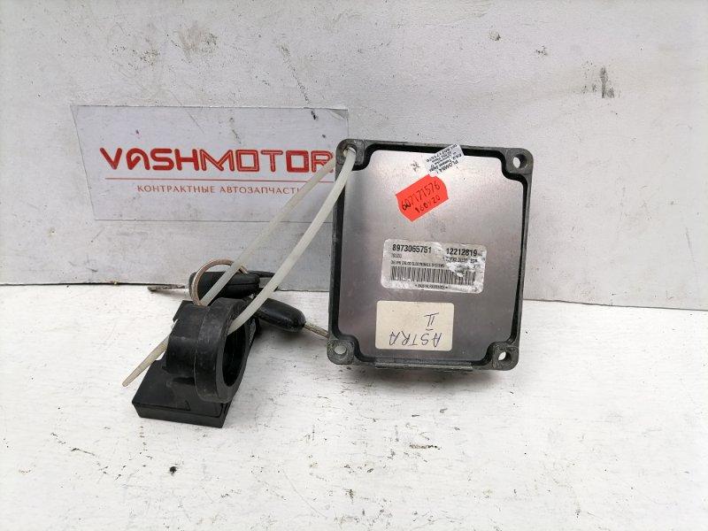 Блок управления двигателем Opel Astra G 1.7DTI 2003 (б/у)