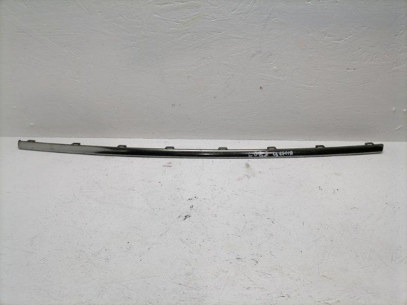 Молдинг бампера Volkswagen Passat B7 передний (б/у)