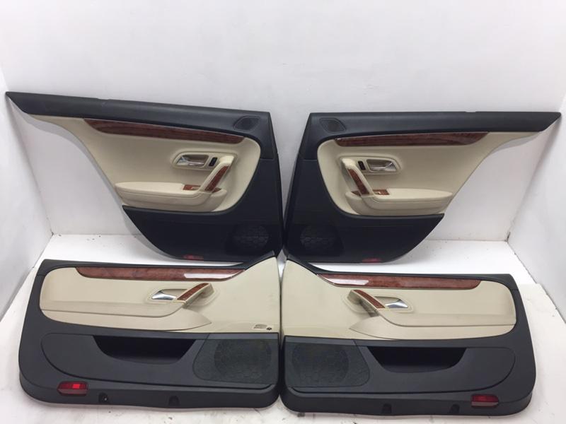 Комплект дверных карт Volkswagen Passat Cc 2.0 TFSI 2010 (б/у)
