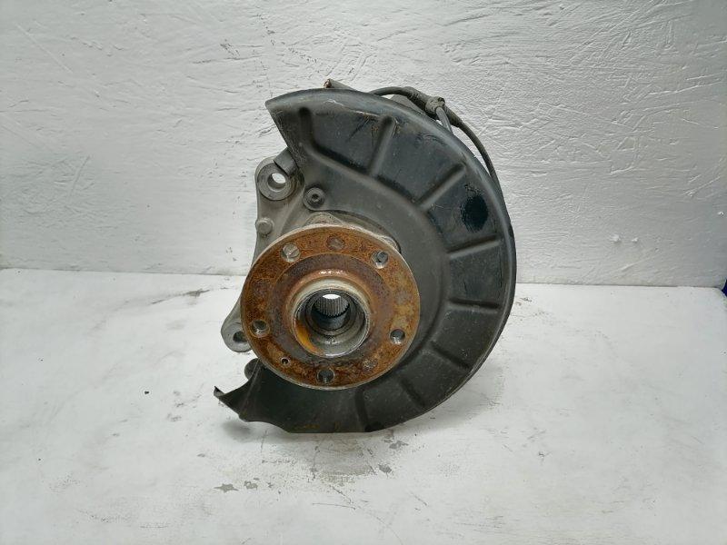 Кулак поворотный Volkswagen Passat Cc 2.0 TFSI 2010 передний левый (б/у)