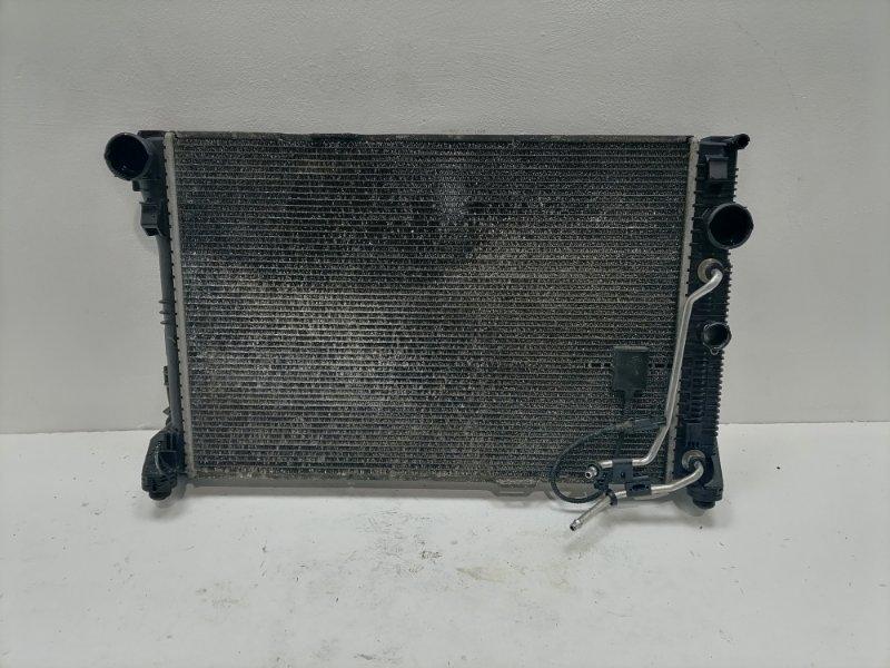 Радиатор двс Mercedes C300 W204 3.5 2012 (б/у)