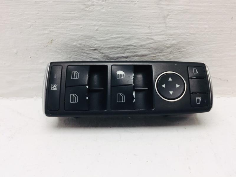 Блок управления стеклоподъемниками Mercedes C300 W204 3.5 2012 передний левый (б/у)