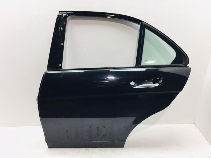 Дверь Mercedes C300 W204 3.5 2012 задняя левая (б/у)