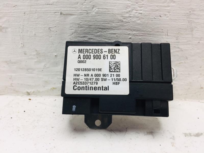Блок управления насосом Mercedes C300 W204 3.5 2012 (б/у)