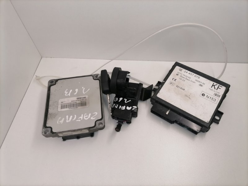 Блок управления двигателем Opel Astra G 1.6 2003 (б/у)