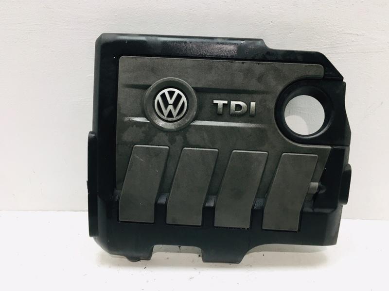 Крышка двигателя декоративная Volkswagen Passat B7 1.6 TDI 2010 (б/у)
