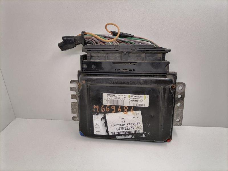 Блок управления двигателем Renault Clio 1.6 2000 (б/у)