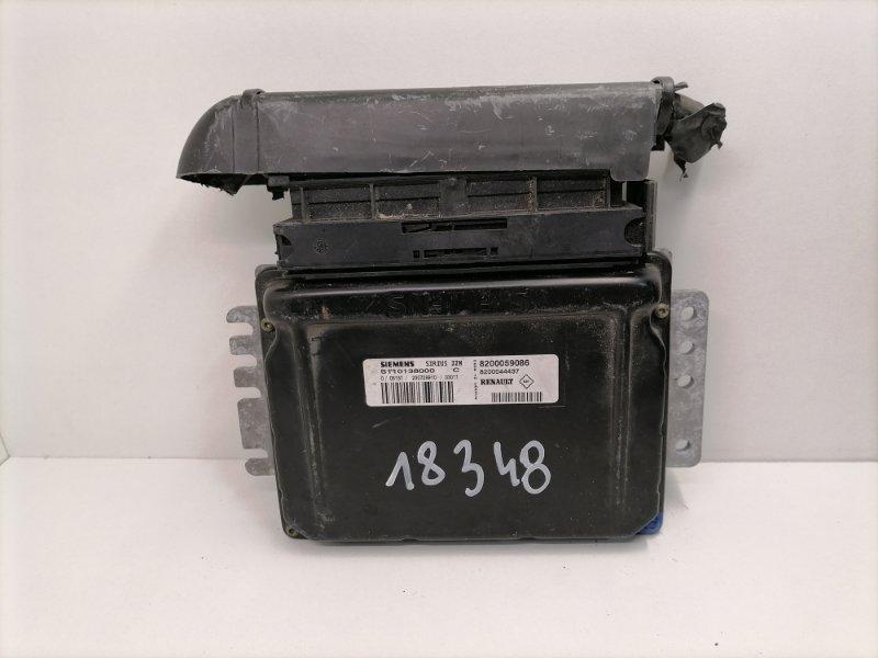 Блок управления двигателем Renault Megane 1.6 2001 (б/у)