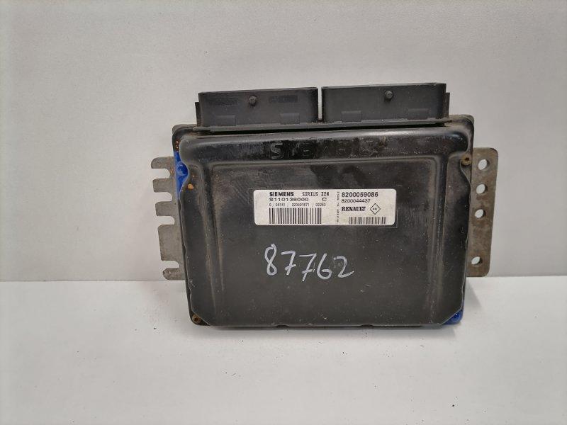 Блок управления двигателем Renault Scenic 1.6 2001 (б/у)