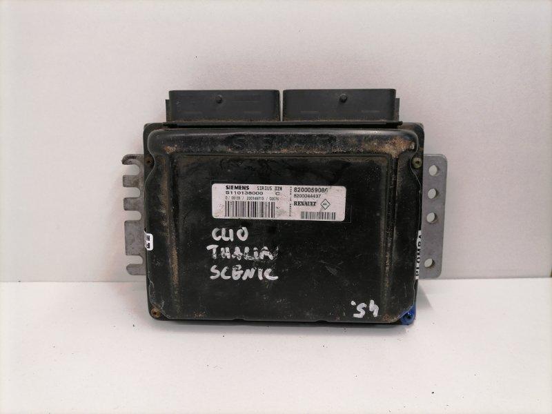 Блок управления двигателем Renault Scenic 1.6 2000 (б/у)