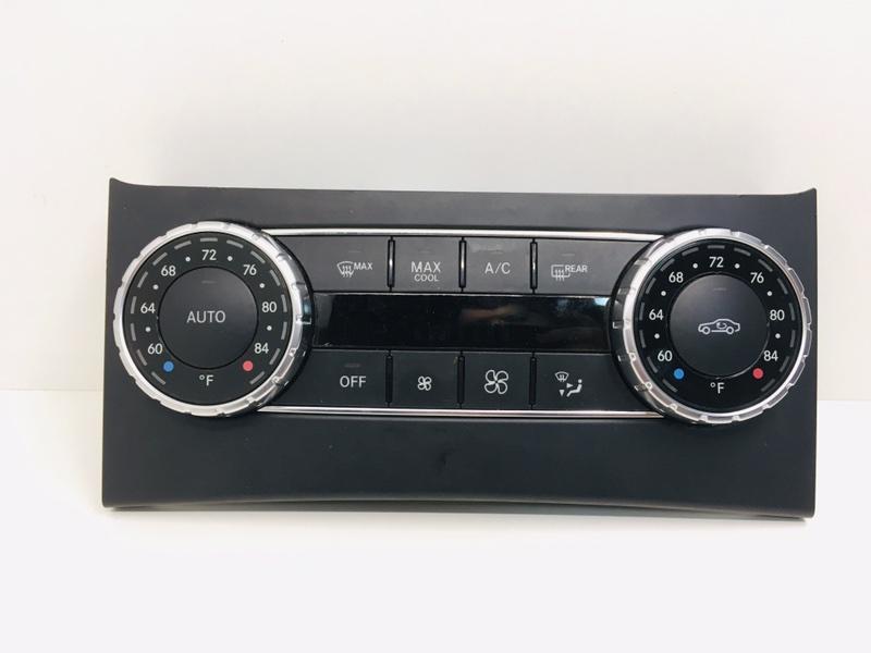Блок управления климат-контролем Mercedes C300 W204 3.5 2014 (б/у)