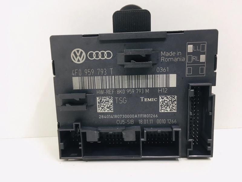 Блок комфорта Audi A6 C6 3.0 2012 передний левый (б/у)