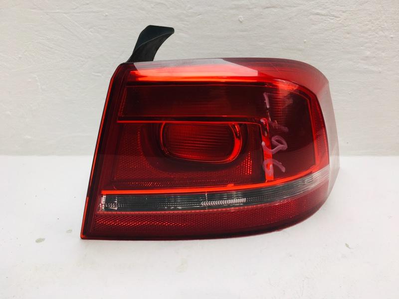 Фонарь задний Volkswagen Passat B7 2.0 TDI 2013 задний правый (б/у)
