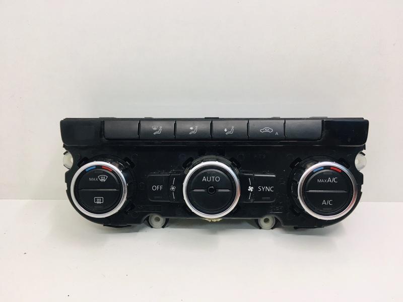 Блок управления климат-контролем Volkswagen Passat B7 2.0 TDI 2013 (б/у)