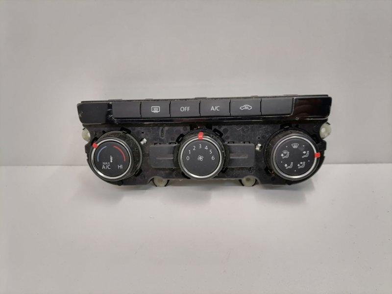 Блок управления климат-контролем Volkswagen Tiguan 2.0 TFSI 2013 (б/у)