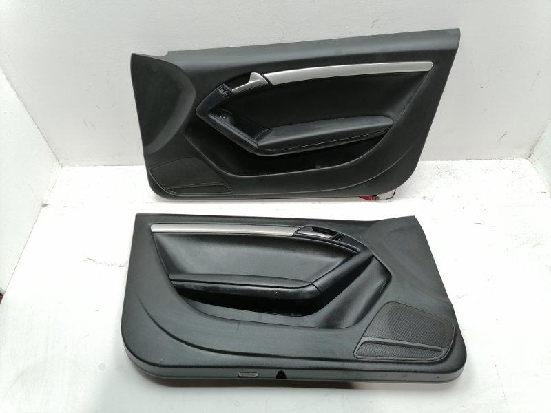 Комплект дверных карт Audi A5 2.0 TFSI (б/у)