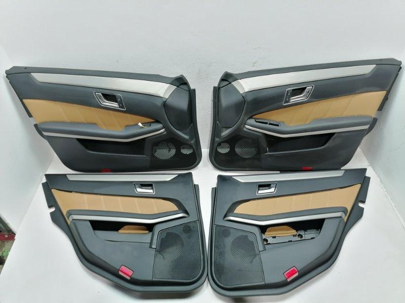 Комплект дверных карт Mercedes E350 W212 3.0 CDI 2009 (б/у)