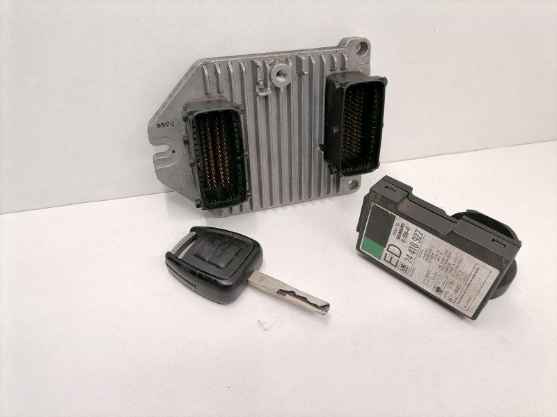 Блок управления двигателем Opel Omega B 1.8 2002 (б/у)