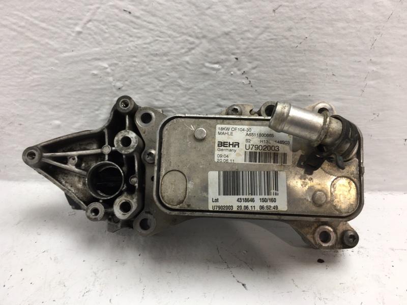 Радиатор масляный Mercedes C220 W204 2.2 CDI 2011 (б/у)