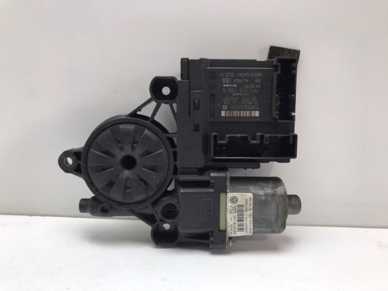 Мотор стеклоподъемника Volkswagen Passat B6 2.0 TDI 2009 передний правый (б/у)