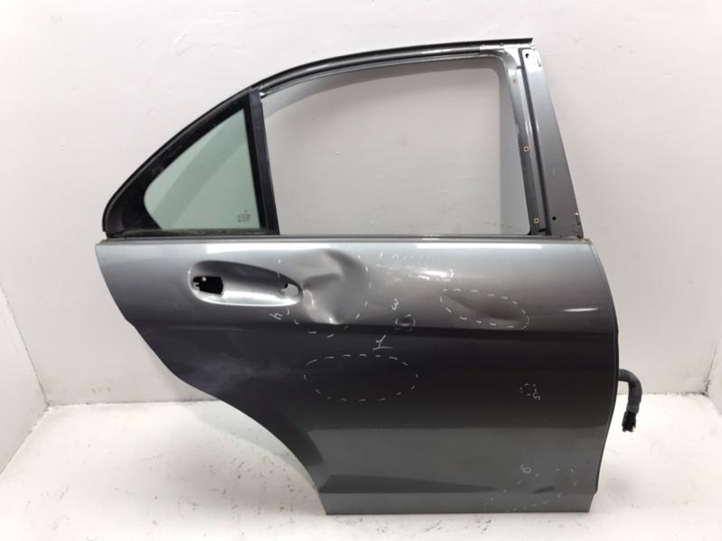 Дверь Mercedes C220 W204 2.2 CDI 2011 задняя правая (б/у)