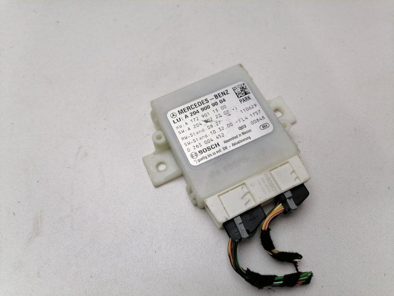 Блок управления парктрониками Mercedes C220 W204 2.2 CDI 2011 (б/у)