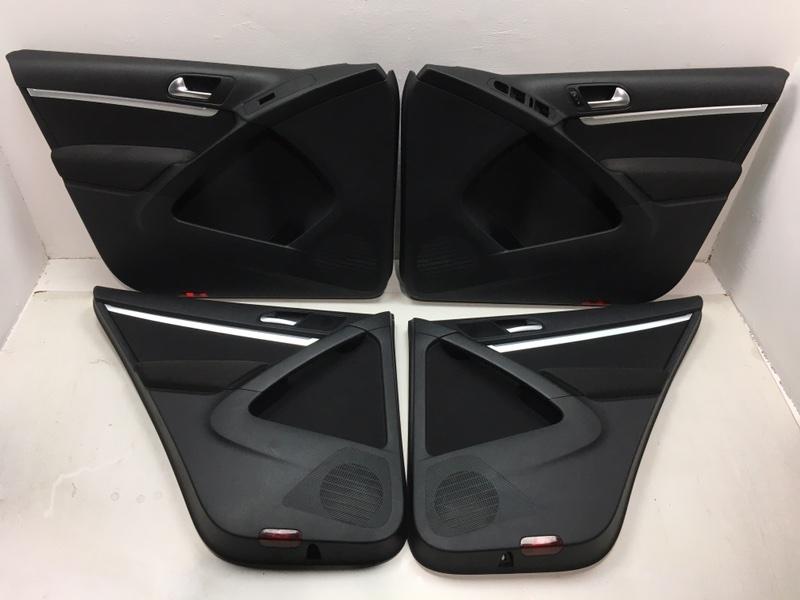 Комплект дверных карт Volkswagen Tiguan 2.0 TDI 2012 (б/у)