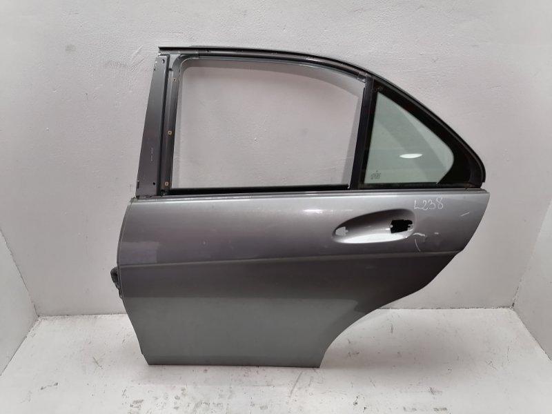Дверь Mercedes C220 W204 2.2 CDI 2011 задняя левая (б/у)