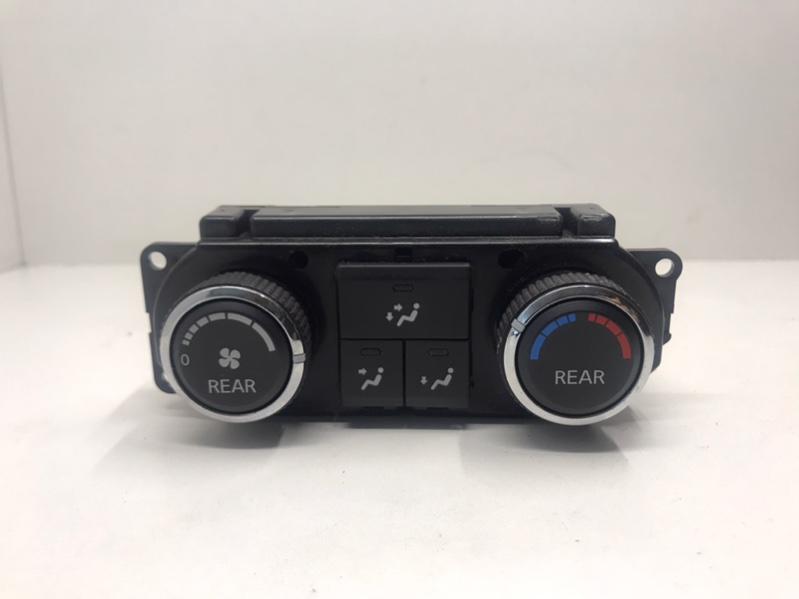Блок управления климат-контролем Nissan Armada 5.6 2009 задний (б/у)