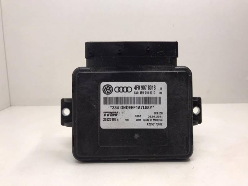 Блок управления стояночным тормозом Audi A6 C6 3.0 2012 (б/у)