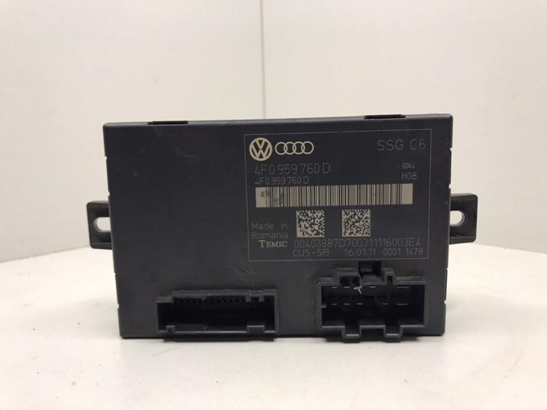 Блок памяти сидений Audi A6 C6 3.0 2012 передний (б/у)