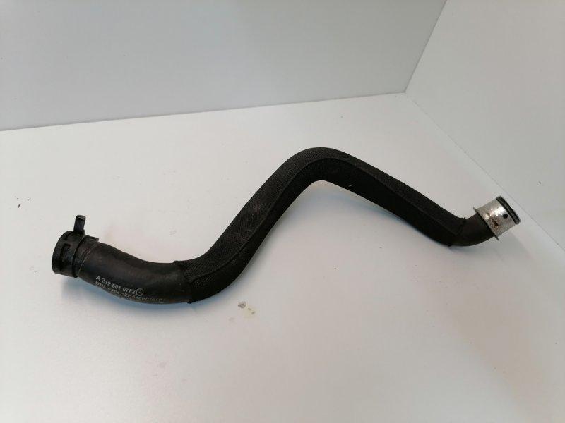 Патрубок радиатора Mercedes E350 W212 3.5 2011 (б/у)