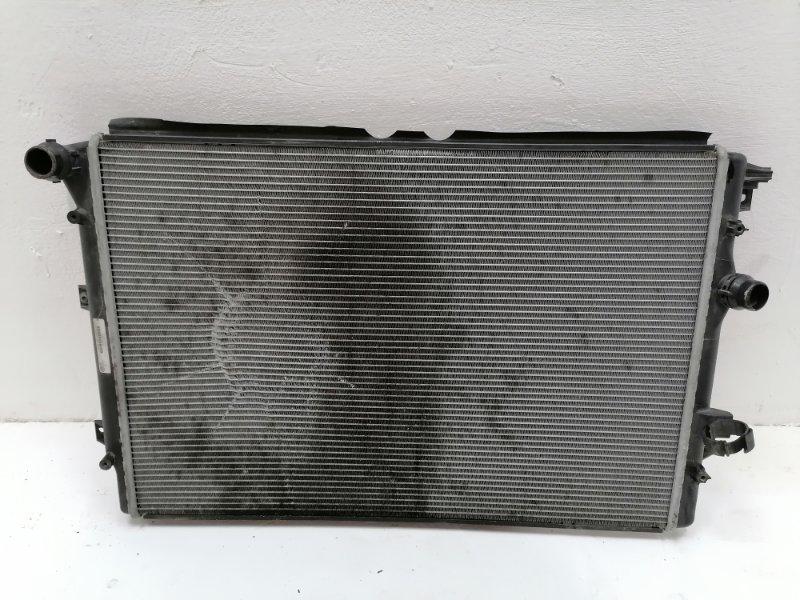 Радиатор двс Volkswagen Tiguan 2.0 TDI 2012 (б/у)