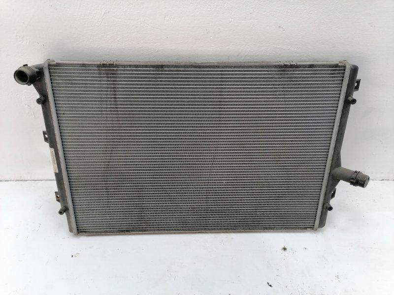 Радиатор двс Volkswagen Passat B6 (б/у)