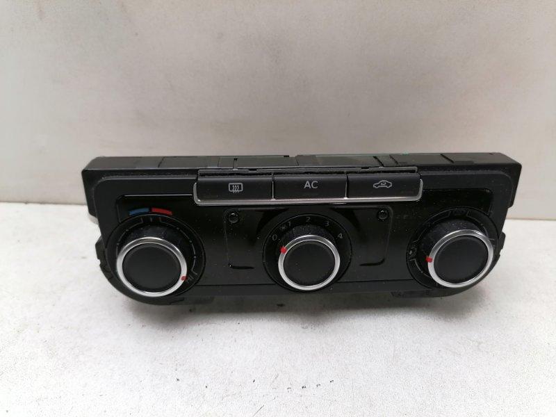 Блок управления климат-контролем Volkswagen Passat B7 1.6 TDI 2012 (б/у)