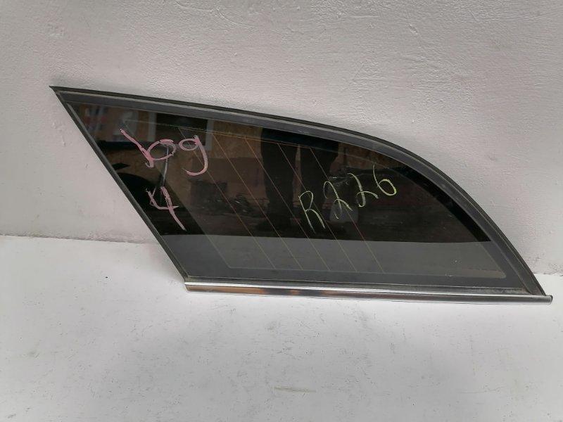 Форточка Mercedes E350 W212 3.5 2011 задняя левая (б/у)