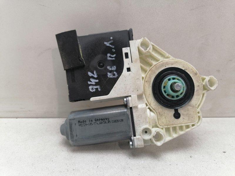 Мотор стеклоподъемника Volkswagen Passat B6 2.0 TDI передний левый (б/у)