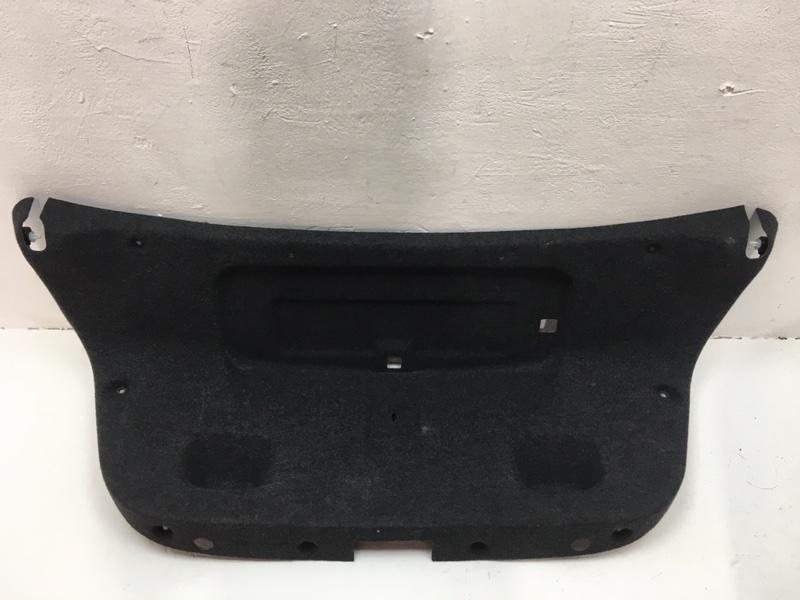 Обшивка крышки багажника Bmw F10 2.0 D 2013 задняя (б/у)