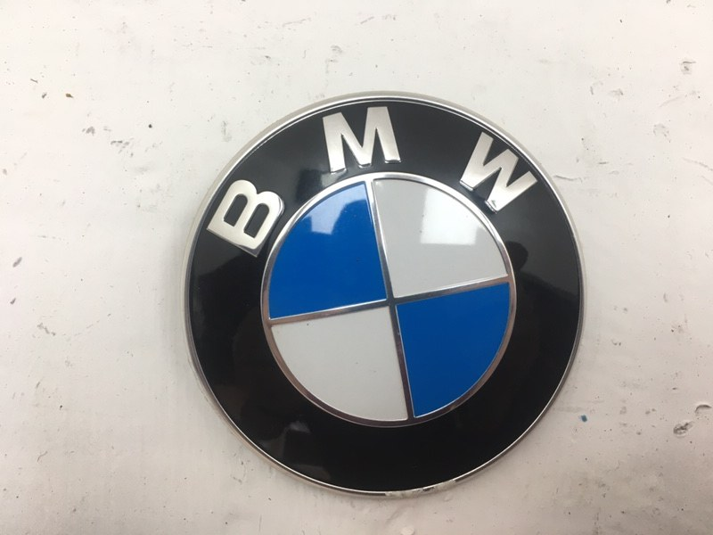 Эмблема Bmw F10 2.0 D 2013 задняя (б/у)