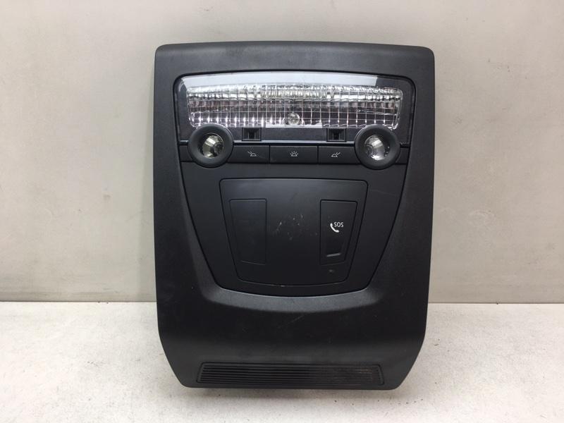 Плафон освещения салона Bmw F10 2.0 D 2013 передний верхний (б/у)