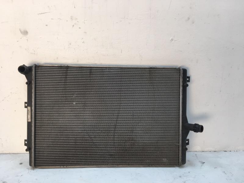 Радиатор двс Volkswagen Passat B7 1.6 TDI 2012 (б/у)
