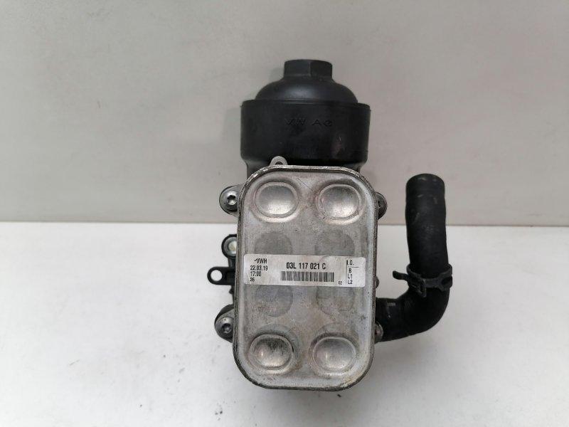 Радиатор масляный Volkswagen Passat B7 1.6 TDI 2012 (б/у)