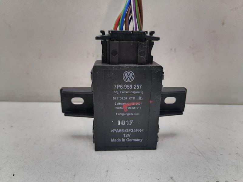 Блок управления сиденьем Volkswagen Touareg 2 Nf 3.0 TDI 2017 (б/у)