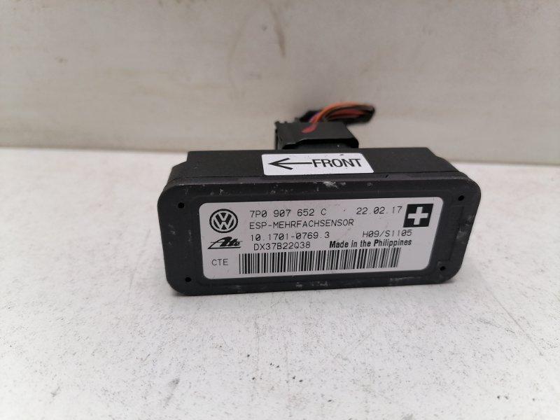 Датчик ускорения Volkswagen Touareg 2 Nf 3.0 TDI 2017 (б/у)